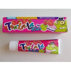 Детская зубная паста Tra-la-la Strawberry