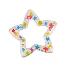 Погремушка Белая звёздочка