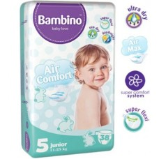 Подгузники Bambino 5 Junior (11-25 кг) 38 штук