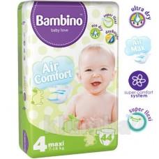Подгузники Bambino 4 Maxi (7-18 кг) 44 штуки
