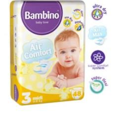 Подгузники Bambino 3 Midi (4-9 кг) 48 штук
