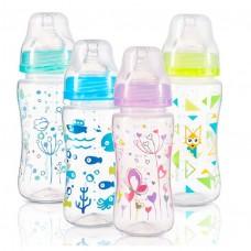 Антиколиковая бутылка с широким горлышком BabyOno 300 ml