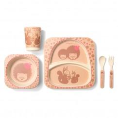Бамбуковая посуда для детей HEDGEHUG BAMBOO!
