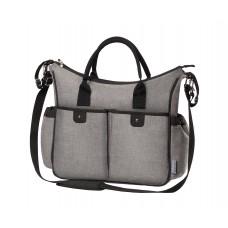 """Интеллигентная сумка для мамы """"SO CITY! с матрасиком для пеленания"""
