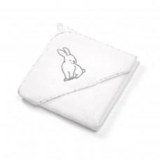 Велюровое банное полотенце с капюшоном 100 x 100 см.