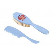 Супер мягкая щётка для волос. Натуральный супер мягкий волос.(слон)