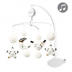 Карусель музыкальная для кроватки с электронной шкатулкой MILKY WAY