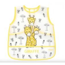 "Фартук детский непромокаемый ""Baby – Explorer"" 12+ мес. (желтый)"