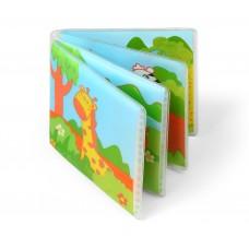 Книжка для ванной WILD ANIMALS с пищалкой 15,5 x 15 см