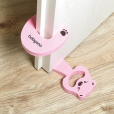 Защитные приспособления для двери /розовый/