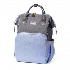 Рюкзак для мамы / на коляску OSLO STYLE синий