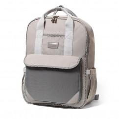Рюкзак для мамы / на коляску LONDON LOOK серый