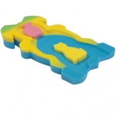 Матрасик резноцветный для купания МИДИ