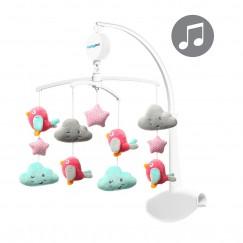 Карусель с мелодией CLOUDS&BIRDS для кроватки