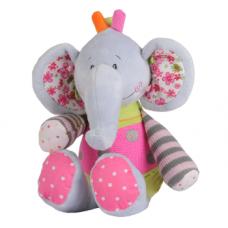 Велюровый слон - 50 см