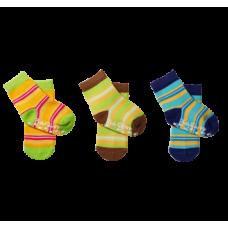 Носки хлопковые противоскользящие 6-12м