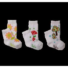 Носки хлопковые 6-12м