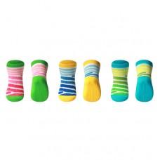 Носки хлопковые противоскользящие 6-12м для ползания