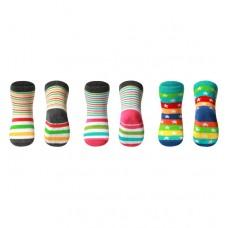 Носки хлопковые противоскользящие 12-24м