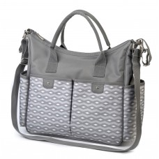 """Интеллигентная сумка для мамы """"SO CITY! с подкладкой к пеленанию"""