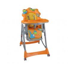 """Кресло для кормления оранжевое """"Динозаврик"""""""