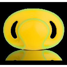 Пустышка симметричная 6-18м, жёлтая